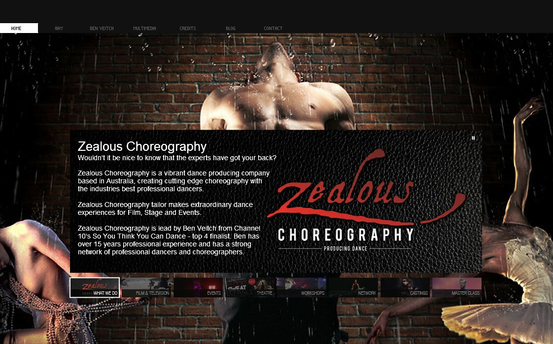 Zealous Choregraphy